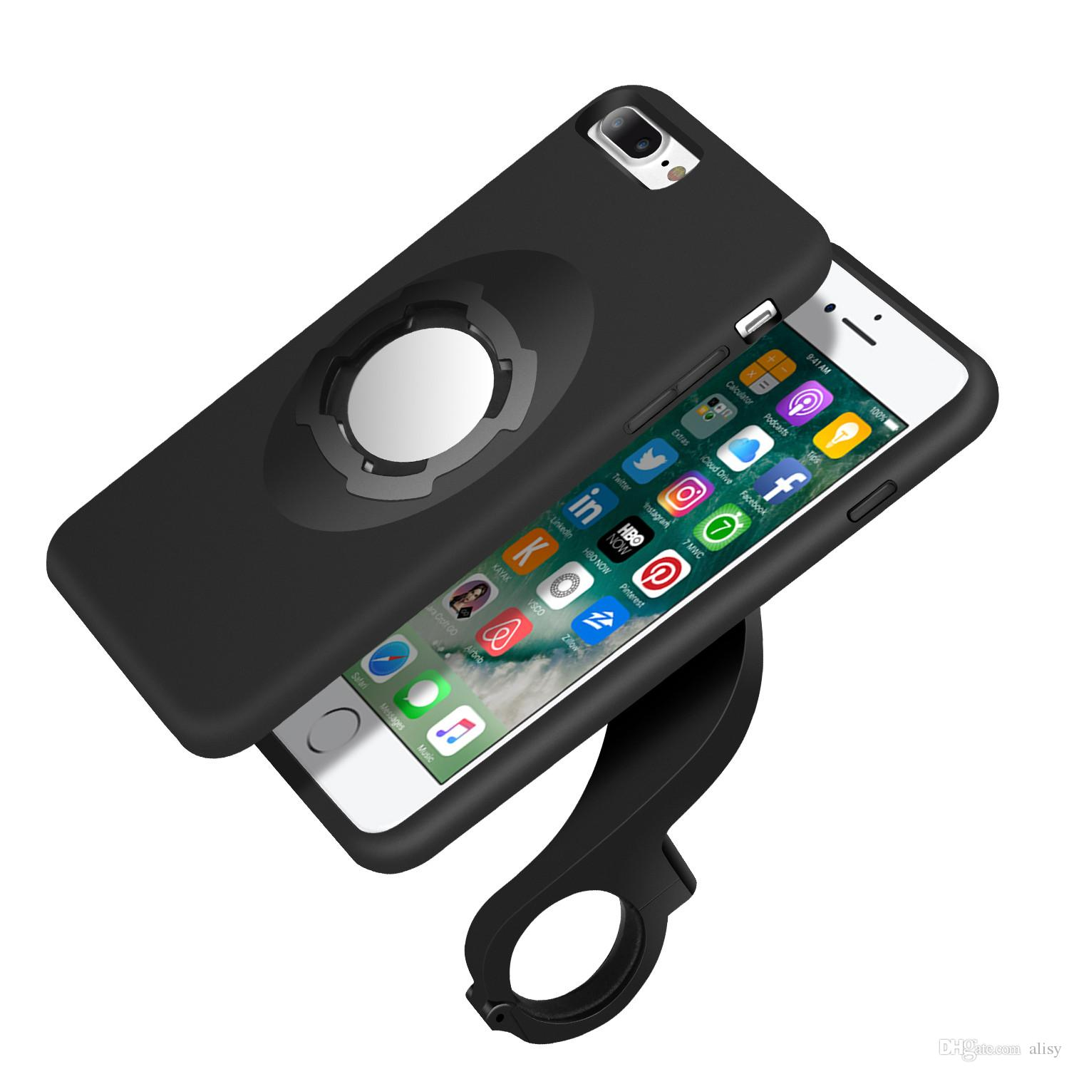 iphone holder for bike shockproof magnetic for iphone 7 plus with bike phone 15291