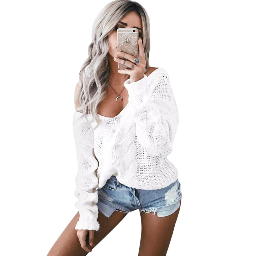 Sexy white jumper
