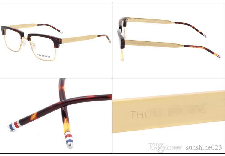 2017 new TB-901 glass frame male restoring ancient ways round box flat mirror frames myopia framework
