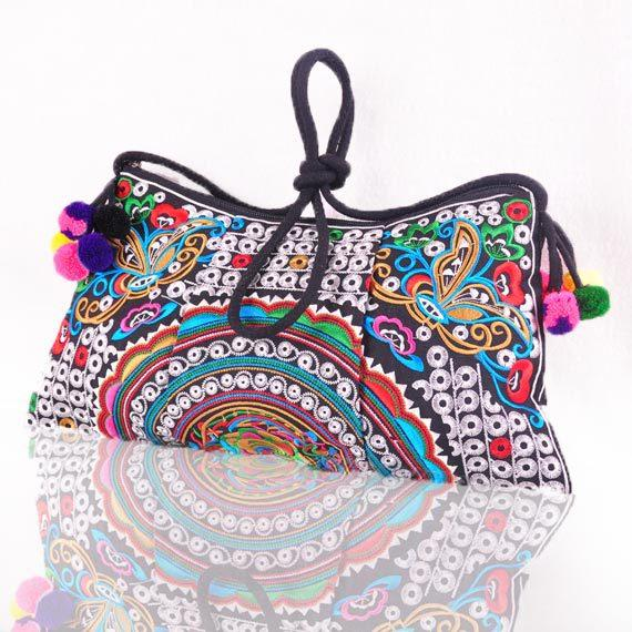 b7e037ff9cd3d Wholesale-National Ethnic Embroidered Bags Double Face Embroidery ...