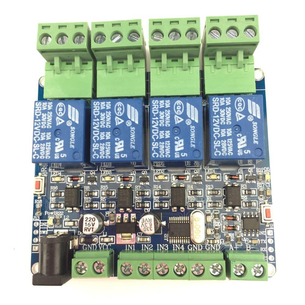2019 High Quality 4 Channel Relay Module Stm8s103 Control Arduino Board Output Development For From Speedin 1424