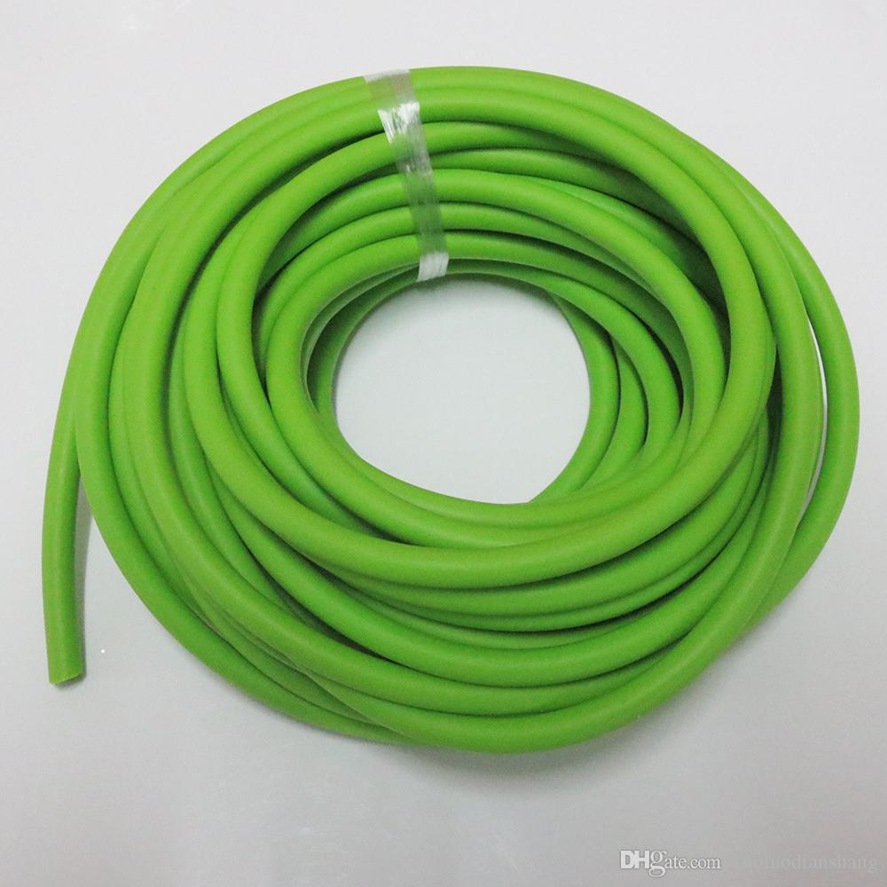 2018 Good Quality 3060 Rubber Band 10 Meters Rope Yoga Elastic ...