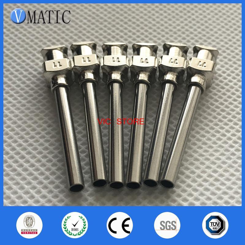 for 1inch Tip Length 11G Blunt Stainless Steel Glue Dispensing Needles Syringe Needle Glue Dispensing Tips