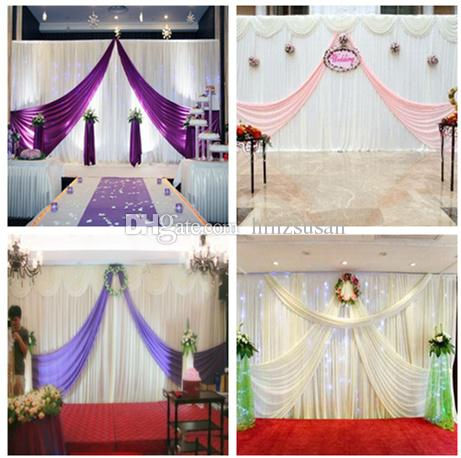 10ftx20ft Brief Party Backdrops White Wedding Party Birthday Decoration Curtains Anniversary Backdrop Drape White Party Decoration Wedding Backdrop Wedding
