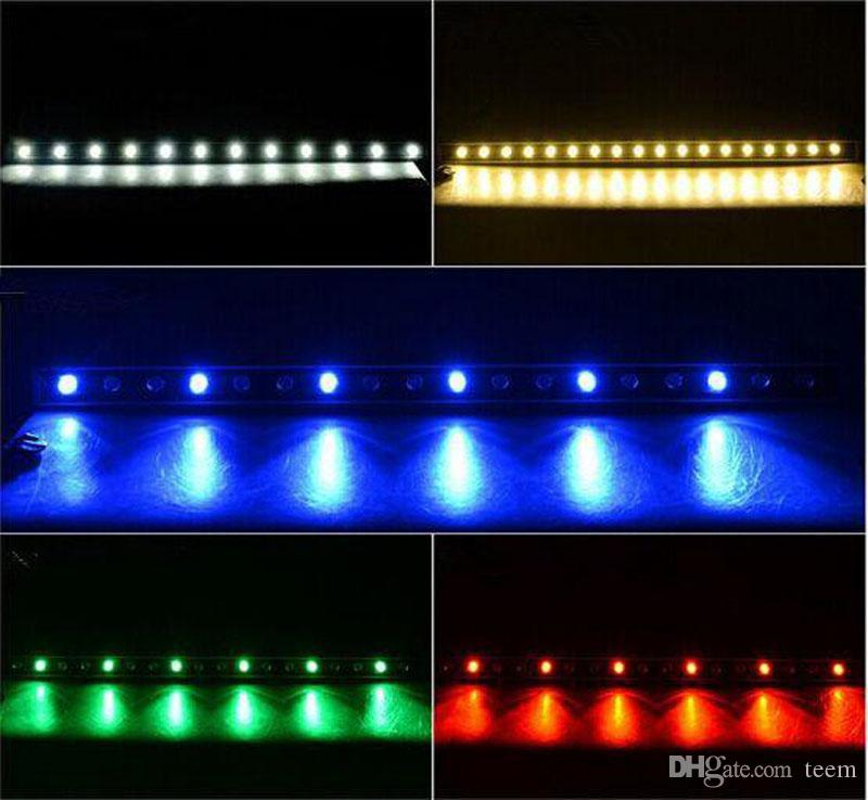 18W 36W LED wall washer RGB 36W lavage mur LED lampe inondation lumière barre de lumière lumières barlight LED projecteur paysage éclairage extérieur CCC
