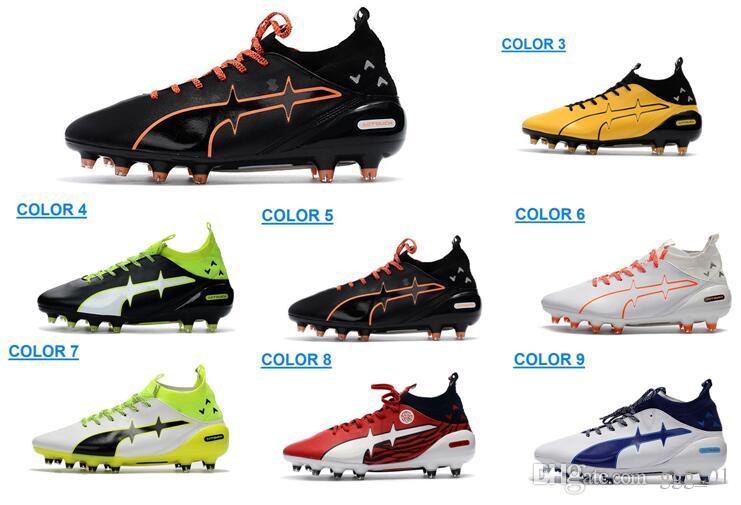 Nouveau Evotouch De Mâle Bottes Cher Pro Football Pas Arriver Qualité Crampons Fg Hommes Chaussures Haute 351lKJFcuT