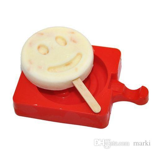 Silicone Creative Homemade Ice cream Popsicle Mold Cartoon DIY Ice Cream Cake Mold Popsicle Sticks Mould wn063