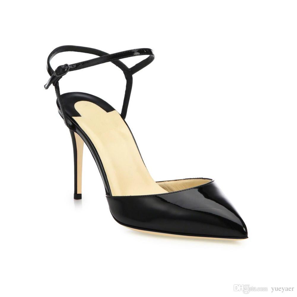 Zandina Femmes Dames De Mode À La Main 10cm Slingback Sandales À Talons Hauts Soirée Dressing Stiletto Chaussures Blanc K310