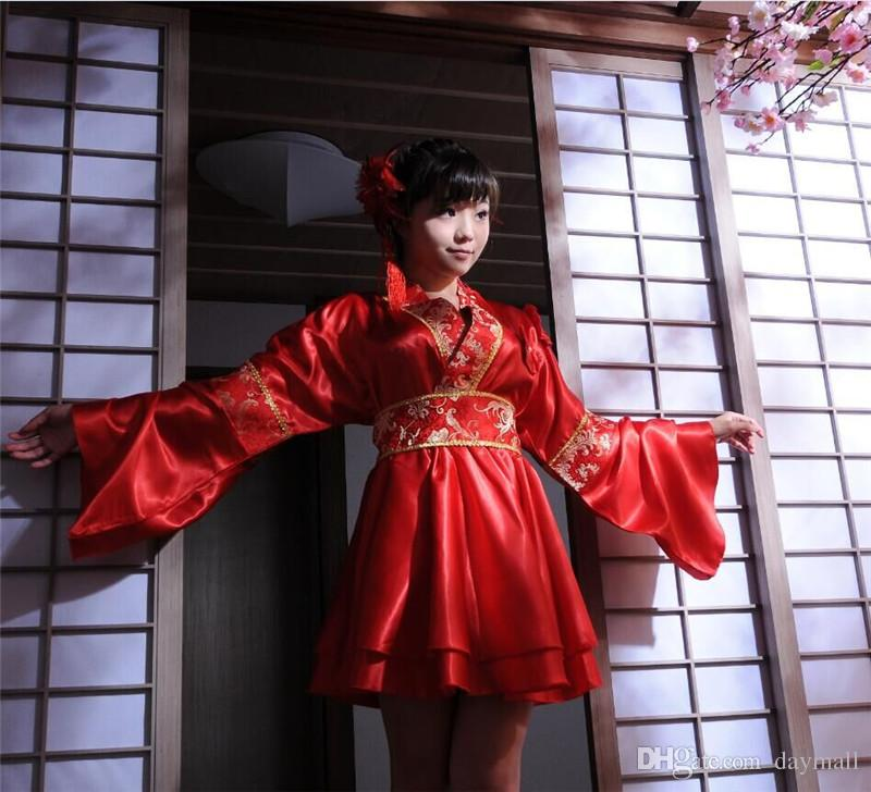 Japanese Wedding Kimono.Japanese Wedding Kimono Bridal Performance Costumes Anime Game Cosplay Uniforms Lolita Fancy Dress Support Drop Shipping