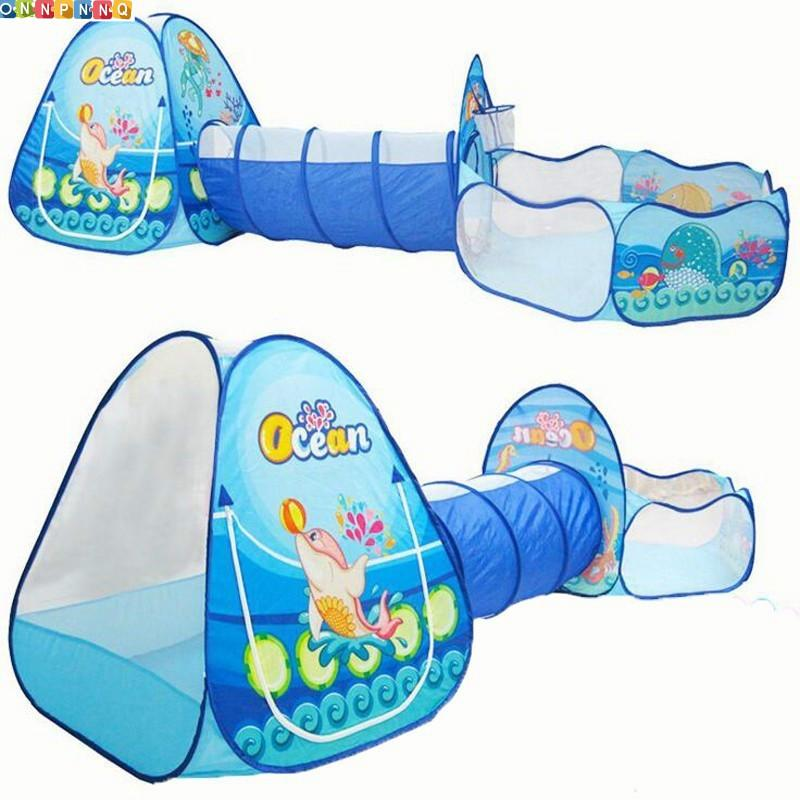 Wholesale Ocean Sence Children Play Tent Crawl Tunnel Ball Pool Kids Toy Tents Baby Indoor Outdoor Use Large Children For Tent House Mickey Mouse Tunnels ...  sc 1 st  DHgate.com & Wholesale Ocean Sence Children Play Tent Crawl Tunnel Ball Pool ...