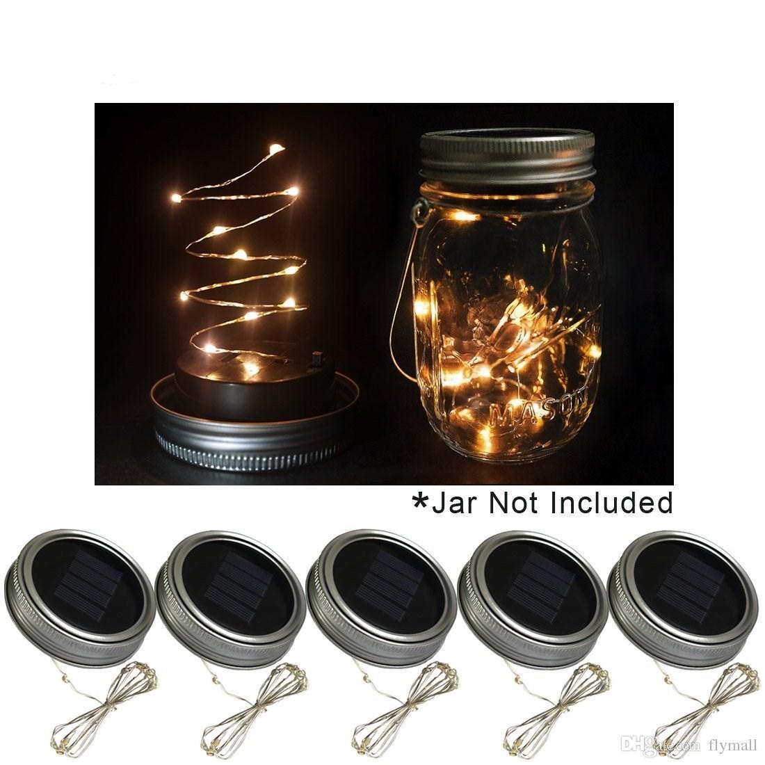 Beautiful Mason Jar solar Lights Diy