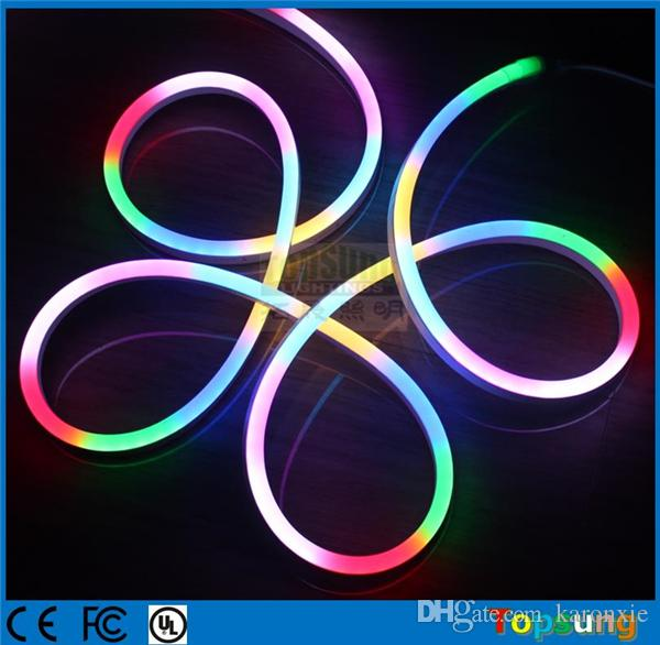 2018 10m spool pixel led neon flexible strip dynamic digital neon 2018 10m spool pixel led neon flexible strip dynamic digital neon flex rope lights 24 volt 5050 smd 10 ic meter with dmx mini controller from karonxie aloadofball Choice Image