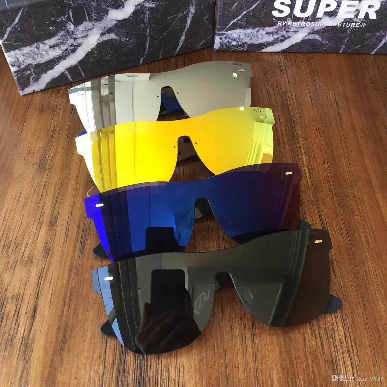 164d30546bc3 Sunglasses Super By Retrosuperfuture Tuttolente Flat Top Silver Mirror  Brand New With Case Sunglasses Uk Polarised Sunglasses From Wige, $55.84|  DHgate.Com