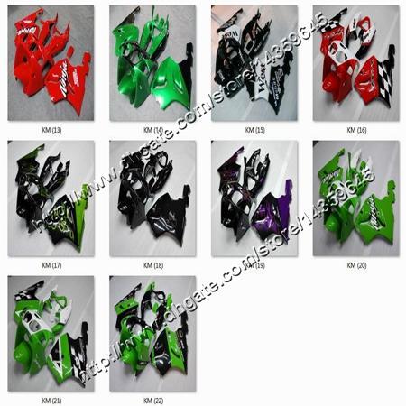 8Gifts + yellow black whtie Carenado ABS ZX7R 1996 1997 1998 1999 2000 2001 2002 2003 carenado de motos para Kawasaki Ninja