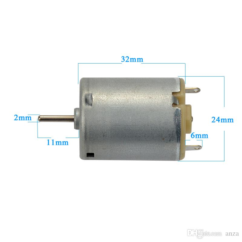 4 개 RE-280RA-2865 장난감 DC 모터 280 배 엔진 1.5V-3 V 고품질 고속 대용량 토크, 소형 팬 선박 모델 용