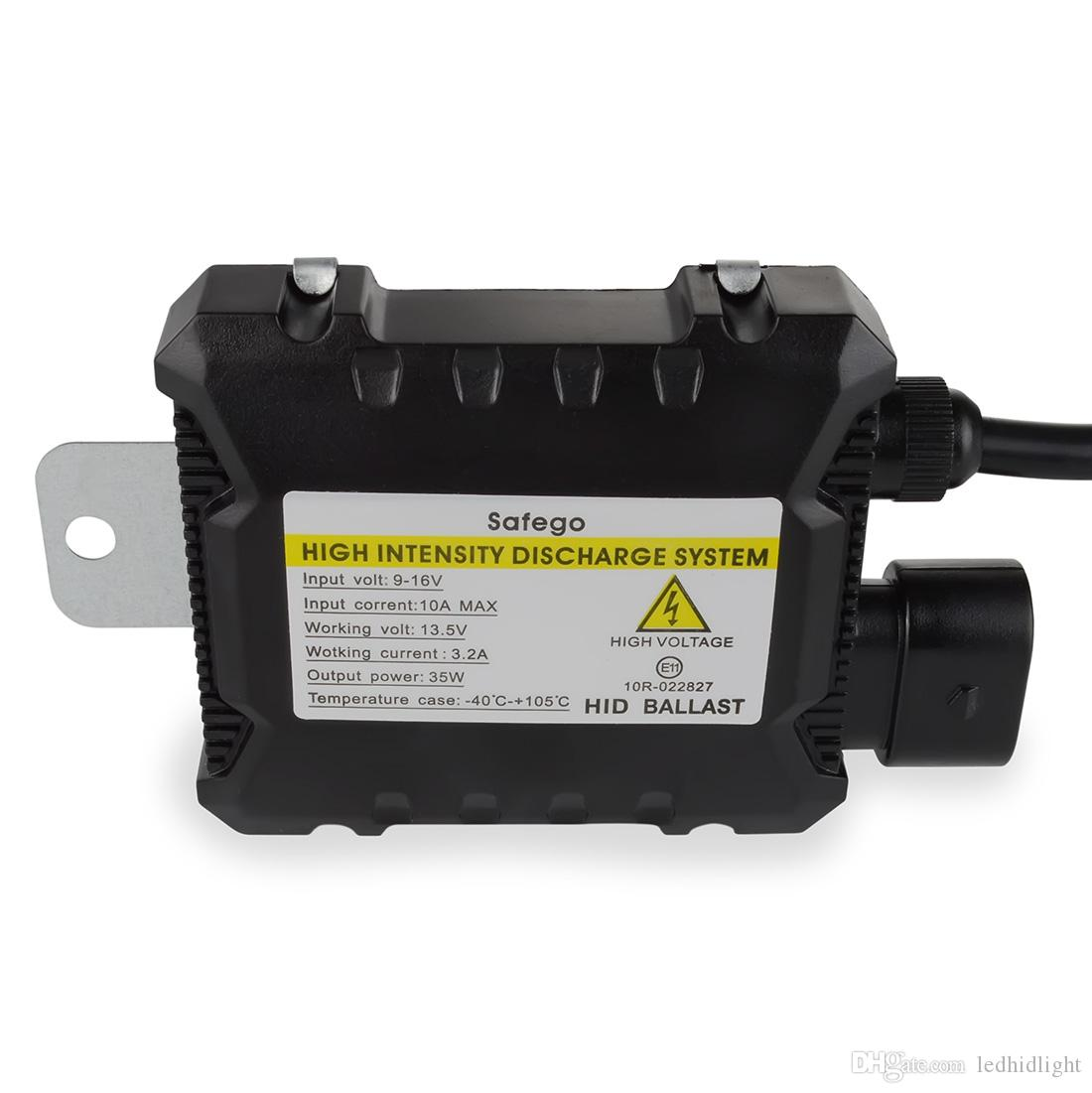 1 X DC 12V 35W Xenon Replacement Ballast Slim Ignition Cheap Block Match Hid Bulb H1 H3 H4 H7 H8 H9 H11 9005 9006 Light Conversion Kits For