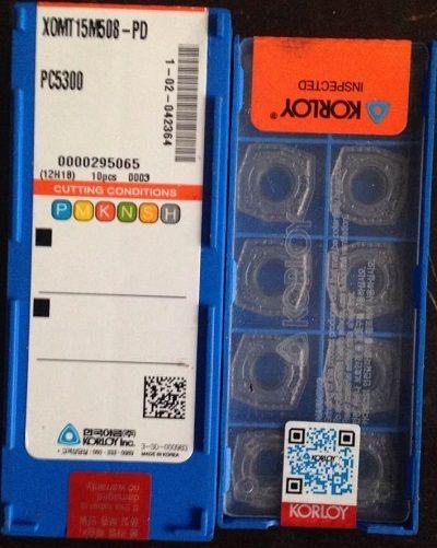 KORLO CARBIDE INSERT XOMT15M508-PD PC5300