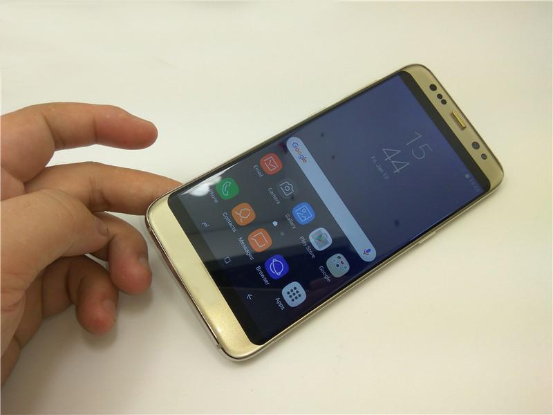 5.2 inch Goophone S8 3G WCDMA Quad Core MTK6580 1GB 8GB IPS Android 6.0 GPS WiFi Smartphone DHL