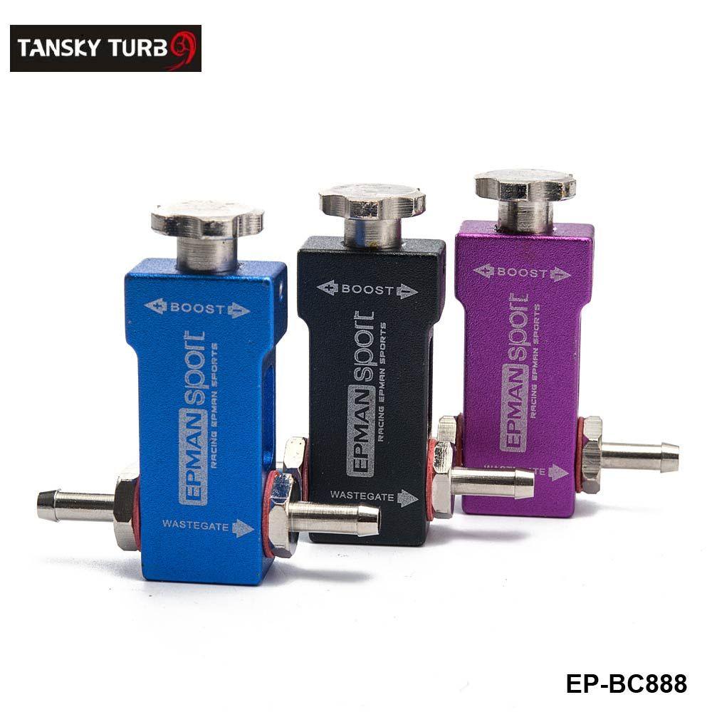 Tansky - Universal Regolabile manuale Turbo Racing Boost Controller 1-30 PSI Colore: Nero, Blu, Viola Boost Tee Type EP-BC888