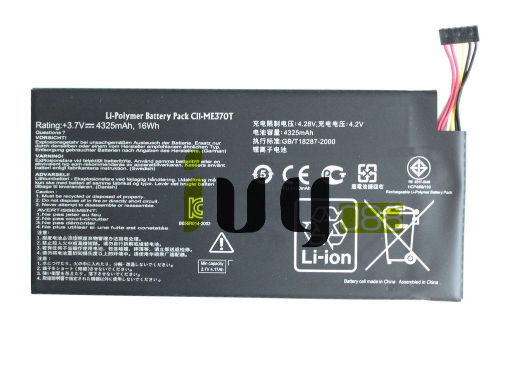 5 قطعة / الوحدة 100٪ الأصلي 4325 مللي أمبير بطارية C11-ME370T C11 ME370T لجوجل بطاريات ASUS nexus7 نيكزس 7