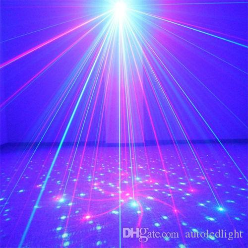 LED Laser Stage Lighting Full Color RGB 48 Patterns RG Mini Led Laser Projector Light Effect Show For DJ Disco Party Light