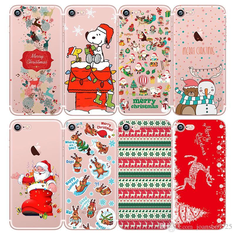 Huawei Handy Hüllen Weiches Tpu Frohe Weihnachten Netter Snoopy ...