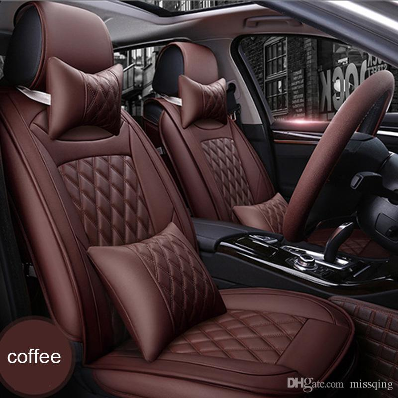 New PU Leather Auto Universal Car Seat Covers Automotive For Toyota Honda Volkswagen Nissan Interior Accessories Cheap