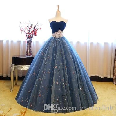 22f6df48e34 Acheter Royal Bleu Couronne Perlant Taille Robe De Bal Cosplay Robe  Médiévale Renaissance Robe Costume Victorien   Marie Antoinette   Belle Robe  Boule De ...