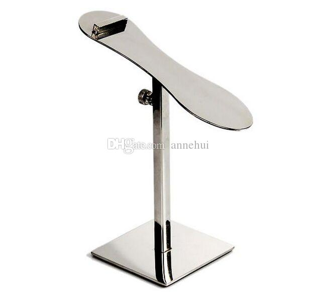 Boutique shop shoes display stand adjustable Stainess steel shoes display rack Sneakers Sandals Casual shoe Clothing Accessory holder free s