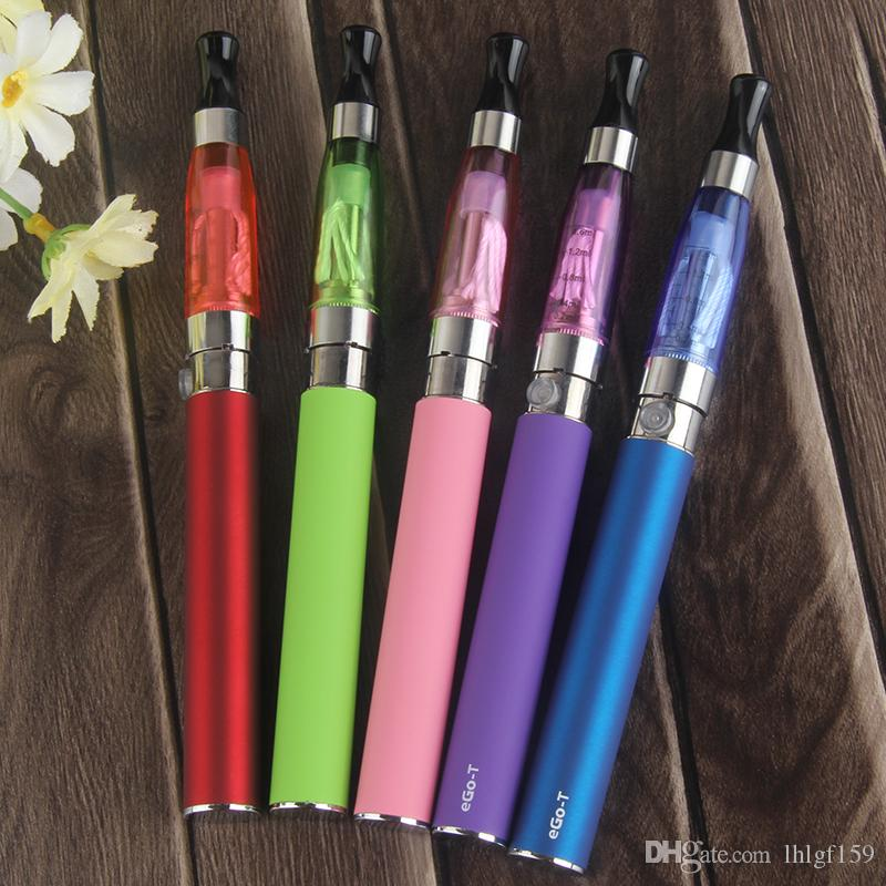 ego t kits cheap EGO KIT CE4 Atomizer blister pack kits 650mah 900mah 1100mah colourful ego battery e-cig DHL
