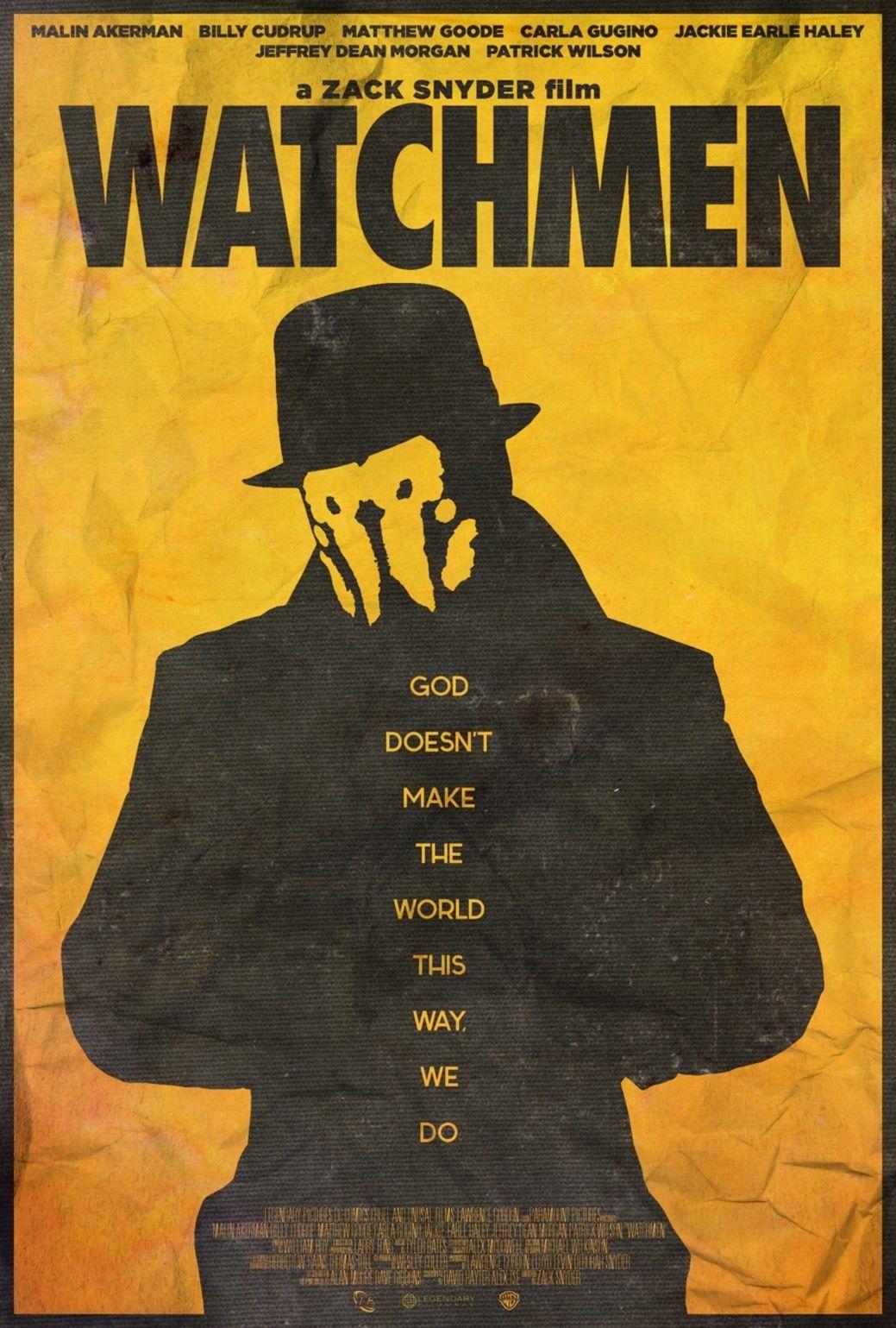 2018 Watchmen Movie Art Print Silk Poster Wall Decor From Weiwei009 ...