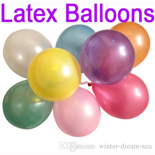 Children Toy Ball Gifts Helium Inflable Giant Latex Balloons For Wedding Birthday Party Decoration Supplies C161Q