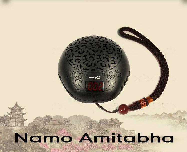 Luxury Wooden fish style buddha machine Mini Portable Mp3 Sound Card Speakers buddhist music player Quran player bible player