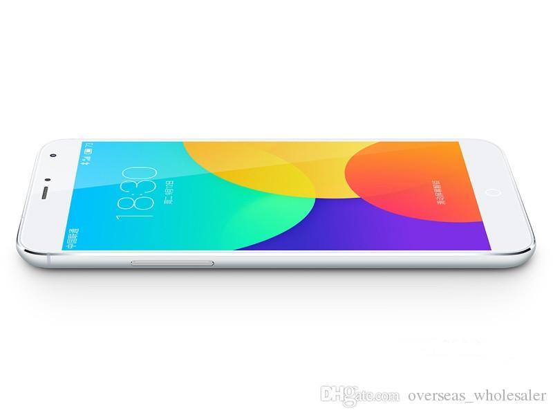 Original Desbloqueado Meizu MX4 Celular 2 GB RAM 16 GB / 32 GB ROM Flyme 4.0 Android Octa Núcleo 20.7MP 5.36 polegadas 3100 mAh Telefone Celular Inteligente