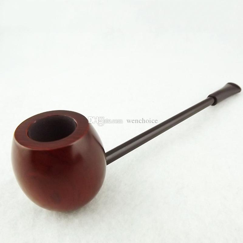 Popeye Wood Rosewood Tobacco Smoking Pipe 145MM Long Rod Tube Cigarette Holder Personalized Gift Cosplay Items
