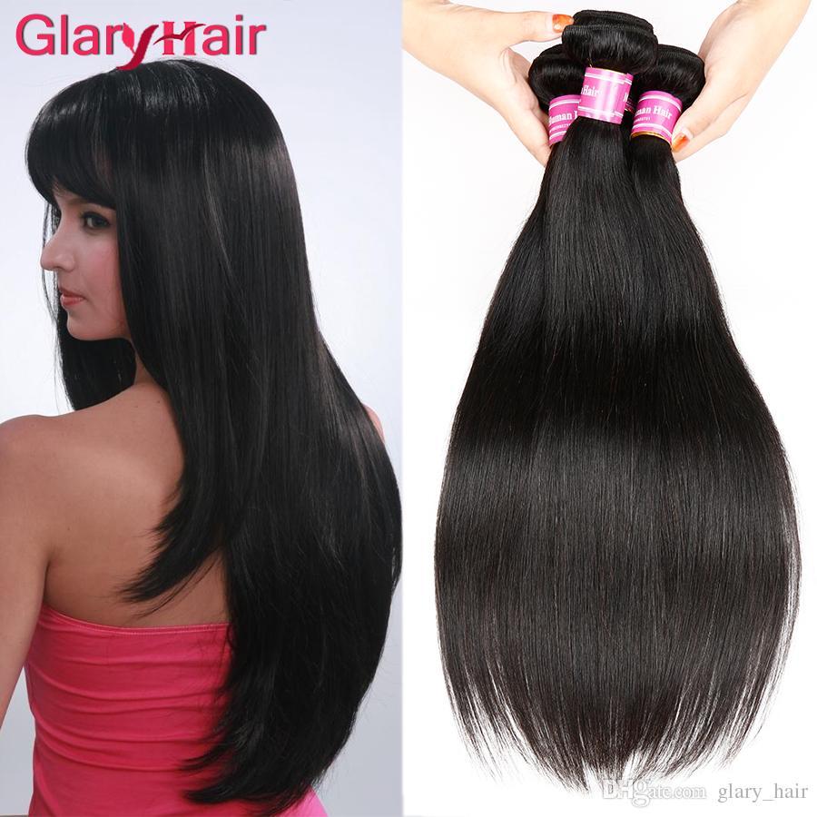 Real Human Hair Extensions 8a Mink Brazilian Virgin Hair Bundles