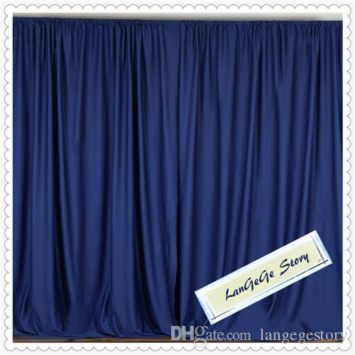 2018 Royal Blue Back Curtain For Event 10ft10ft Party Wedding Decoration Curtains From Langegestory 9213