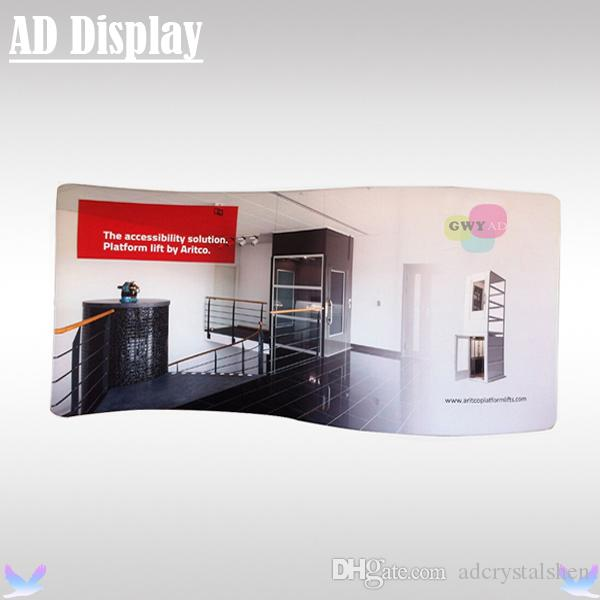 Fabric Exhibition Stand Xbox One : M s shape exhibition pop up booth advertising