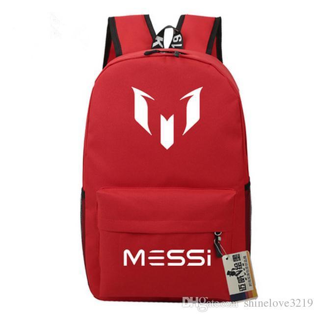 Messi Backpacks Waterproof Jansport Backpack Men Women Travel Bags ...