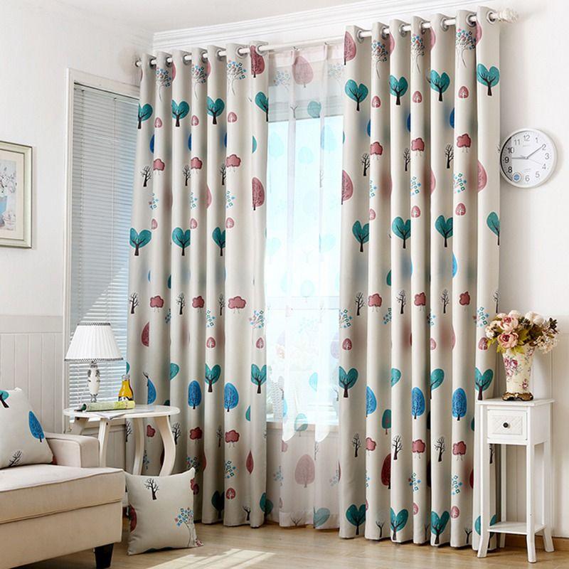 2019 High Quality Home Textile Window Curtains Cartoon