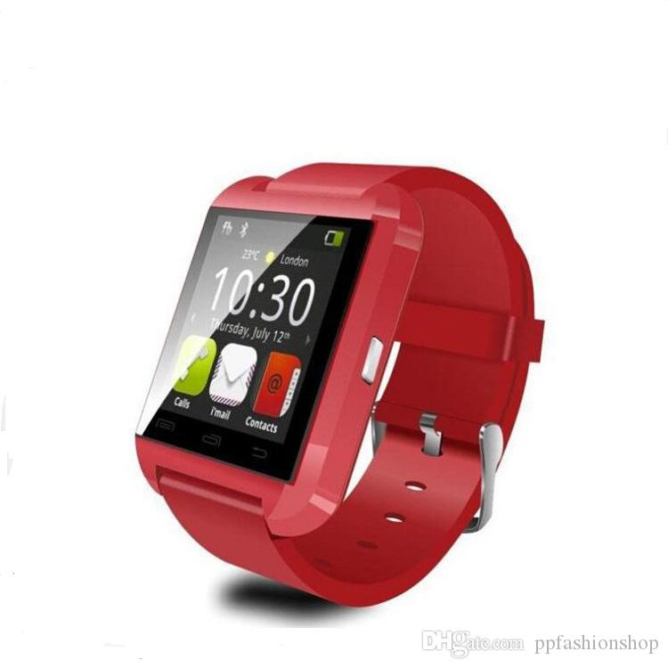 2017 high quality new U8 Bluetooth watch, smart watch, exercise step sleep monitor, Bluetooth call wholesale