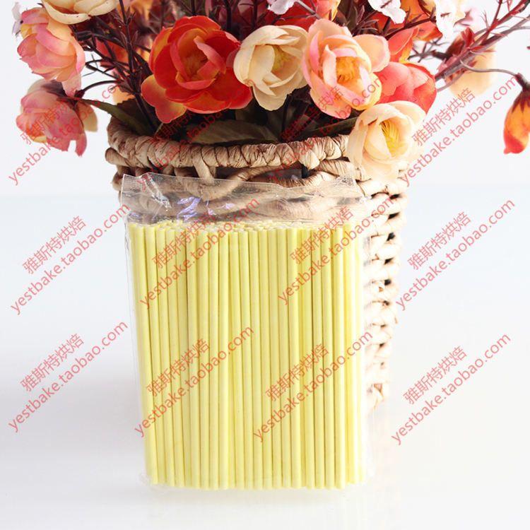 100 قطع الصلبة الأساسية ورقة المصاصة العصي 100 ملليمتر * 3.5 ملليمتر عصا اسكيمو ل فندان حلوى الشوكولاته كعكة البوب الكعك صنع العفن الأبيض