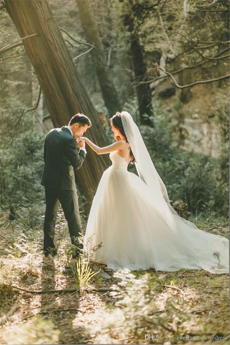 3M Elegante elegante / marfil de una sola capa velo simple velo largo de la boda accesorios nupciales envío gratis con peine