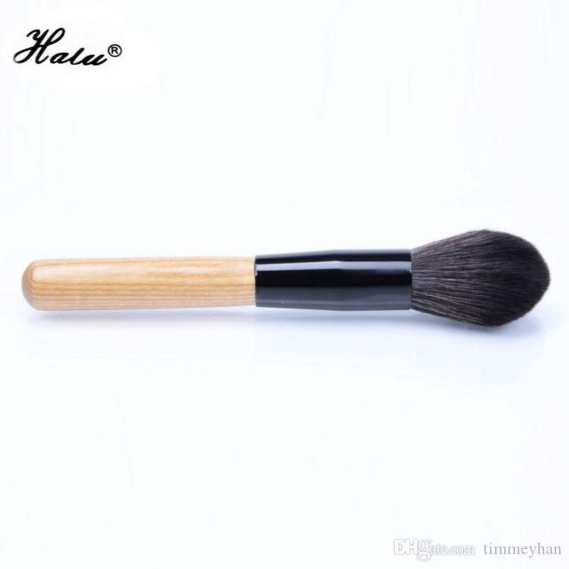 HaLu Fire Flame Pro Foundation Makeup Brush Black Face Loose Powder Blush Make Up Brushes Foundation Blending Contour Concealer Brush