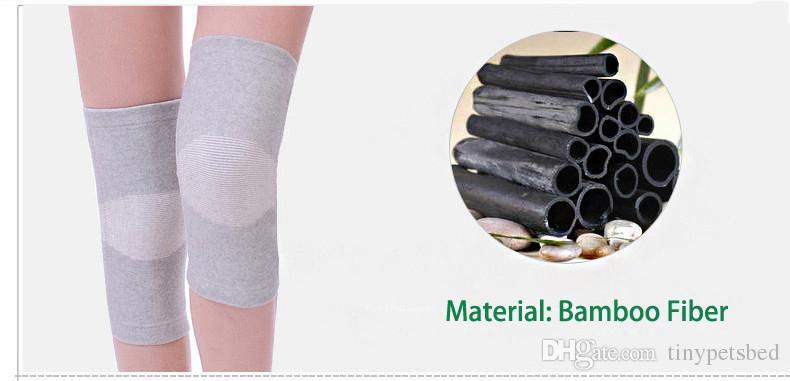 Großhandel Freies Verschiffen Neue Bambusfaser Knie Massage Klammer ...