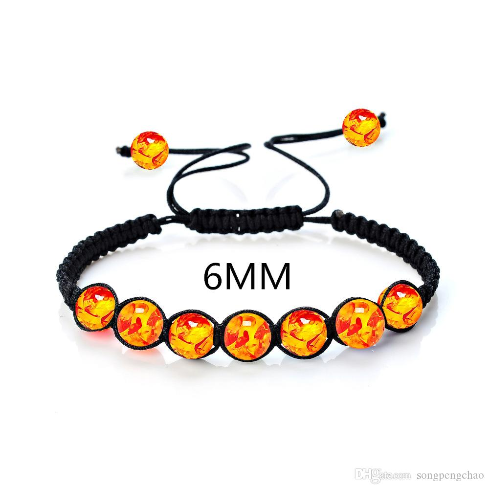 New style hot sale 6MM multi-species natural stone amethyst beads woven Xiangbala yoga energy stone bracelet
