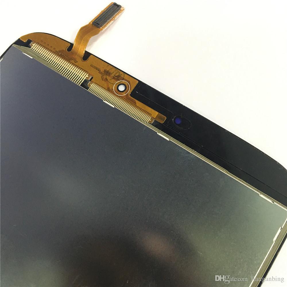 Nueva pantalla LCD Pantalla táctil Reemplazo del digitalizador para Samsung Galaxy Tab 3 8.0 T310 sm-T310 Negro / Blanco con vidrio templado DHL logística