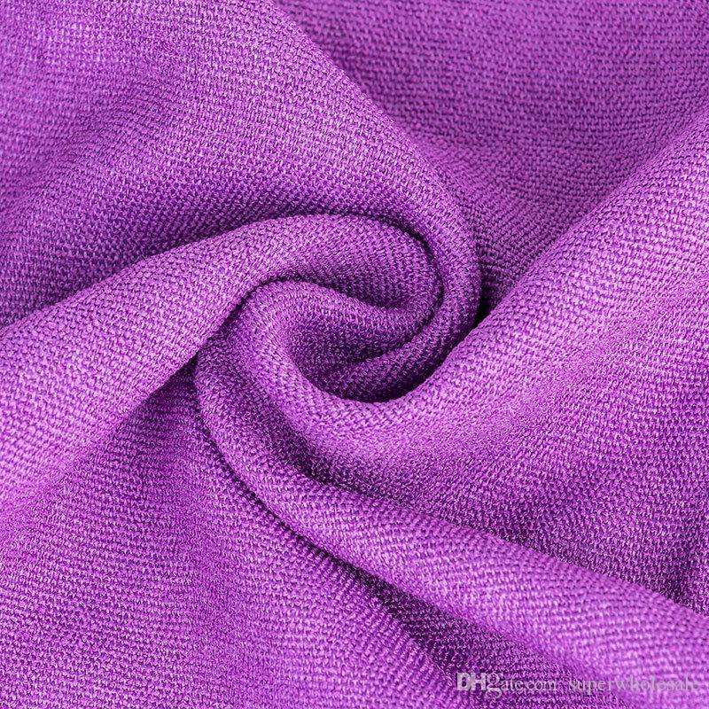 Serviette de matelas de yoga en microfibre Serviette de yoga anti-glisse avec sac de transport en tissu Serviette de gymnastique très absorbante en microfibre 72x24