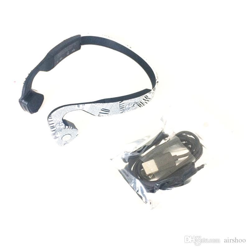 2017 Sans Fil Os Conduction Casque Stéréo Casque LK-CK Couleur du Journal BT 4.1 Étanche Bluetooth Cou-sangle NFC Écouteur DHL Gratuit