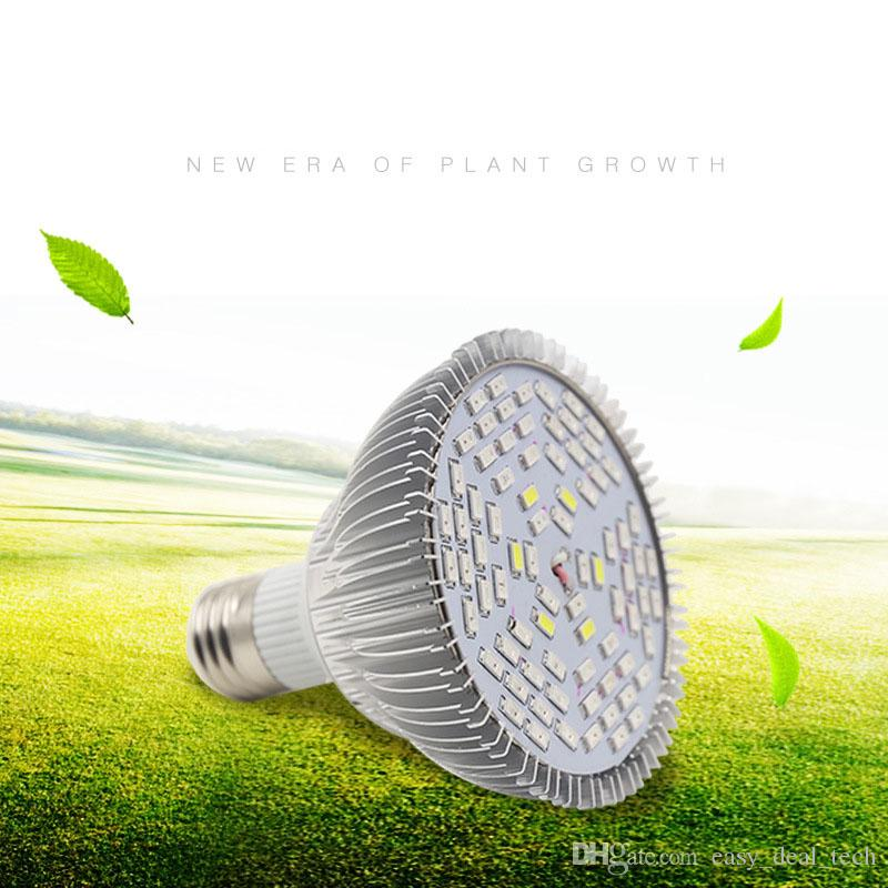 78 Leds Full Spectrum LED Crow Light E27 planta de cultivo bulbos de lámpara para acuario hidropónico flor Siembra sistema de verduras ZJ0563